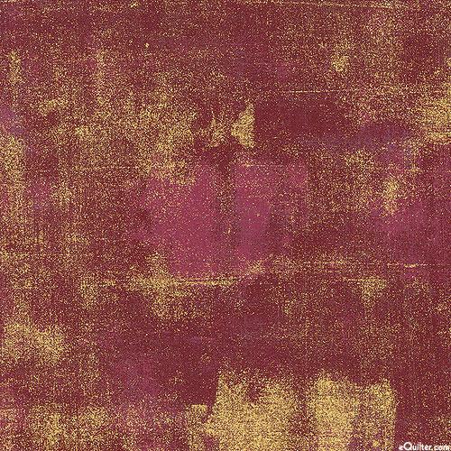 Grunge - Urban Gesso - Burgundy/Gold