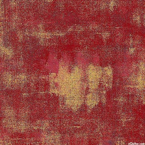 Grunge - Urban Gesso - Garnet Red/Gold