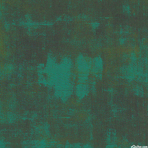 """Grunge - Urban Gesso - Christmas Green - 108"""" QUILT BACKING"""
