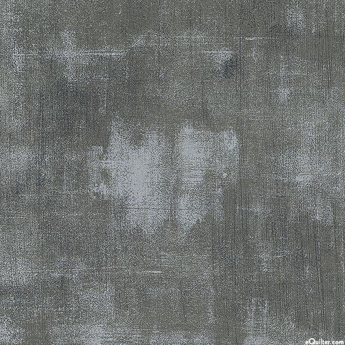 "Grunge - Urban Gesso - Steel Gray - 108"" QUILT BACKING"