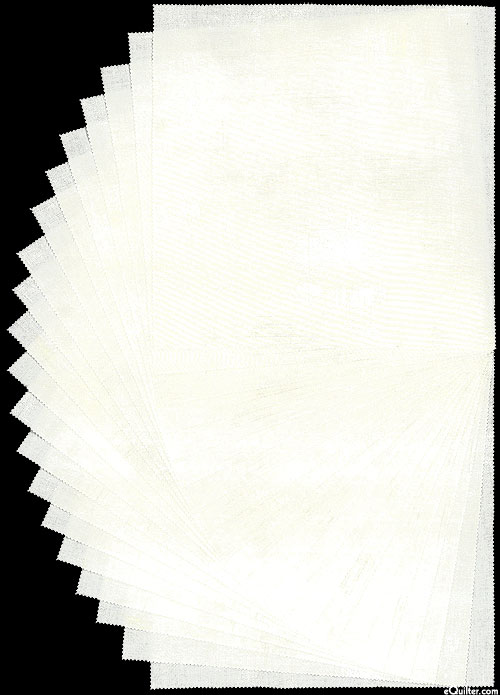 """Grunge Layer Cake - Paper White - 10"""" Squares"""