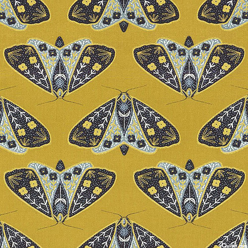 Dwell in Possibility - Golden Moths - Honey/Gold
