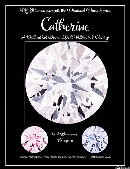 Diamond Divas - Catherine - Quilt Pattern by MJ Kinman