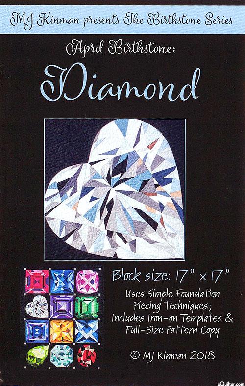 Birthstone Pattern - April Diamond- by MJ Kinman