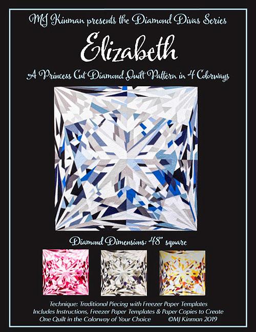 Diamond Divas - Elizabeth - Quilt Pattern by MJ Kinman