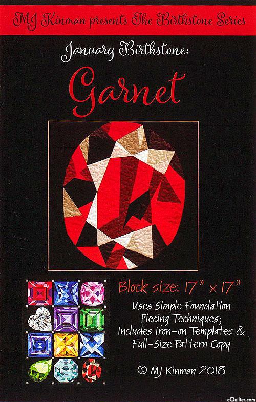 Birthstone Pattern - January Garnet - by MJ Kinman