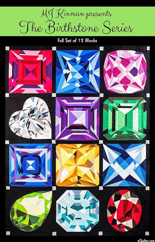 The Birthstone Series - Full Set - Pattern by MJ Kinman