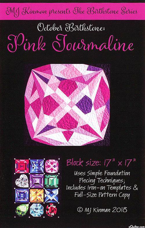 Birthstone Pattern - October Pink Tourmaline - by MJ Kinman