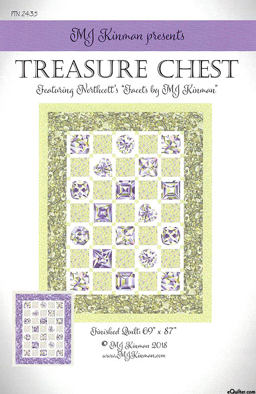 Treasure Chest - Quilt Pattern by MJ Kinman