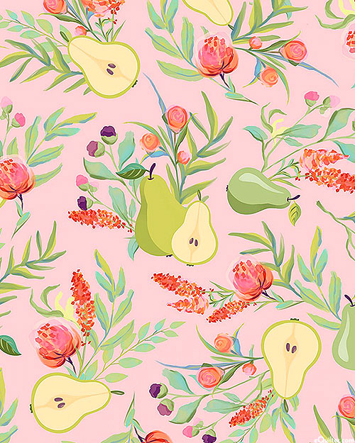 Breakfast in Bed - A Perfect Pear - Pastel Pink