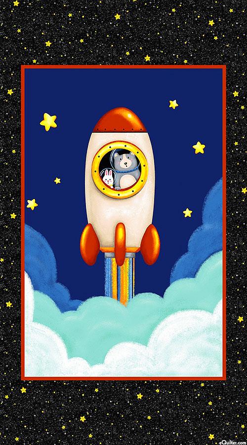 """Hula Universe - Lift Off - 24"""" x 44"""" PANEL"""