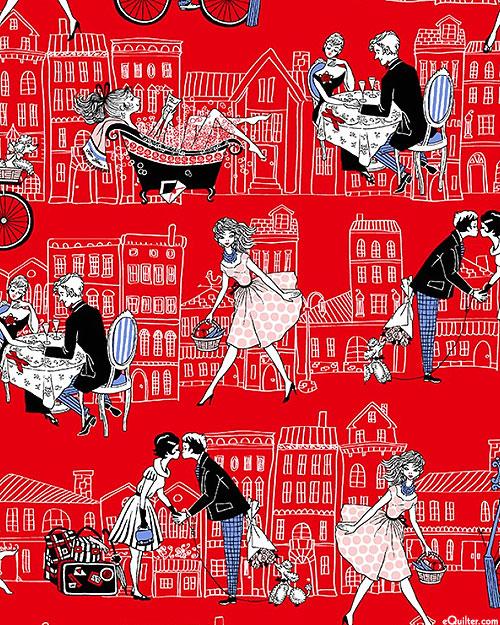 Joie De Vivre - Rue Saint Honore - Lipstick Red