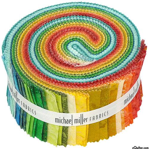 "Fairy Frost - Crayon Box - Pearl & Metallic 2 1/2"" Strips"
