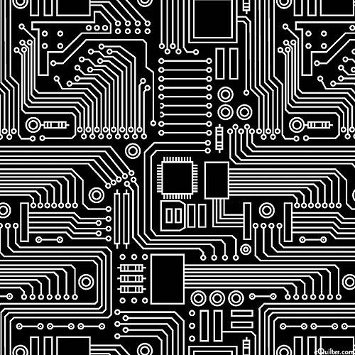 Stem Squad - Circuit Board - Black