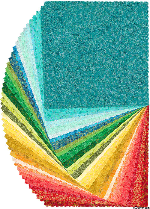 """Fairy Frost - Crayon Box - Pearl & Metallic 10"""" Squares"""