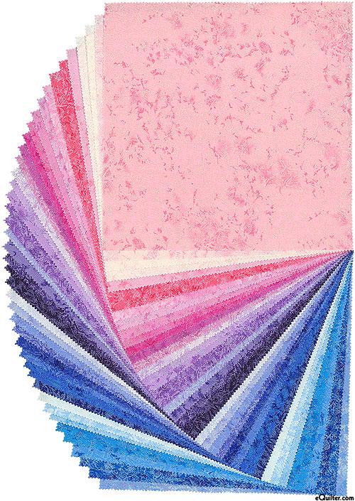"Fairy Frost - Twilight Sky - Pearl & Metallic 10"" Squares"