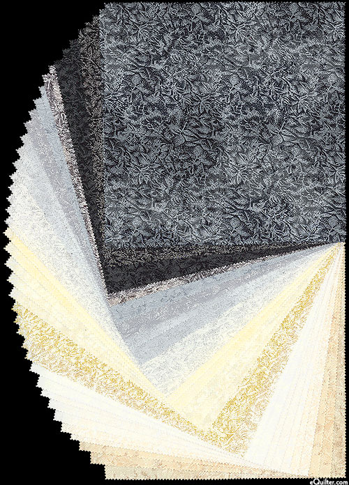 """Fairy Frost - Frosty - Pearl & Metallic 10"""" Squares"""