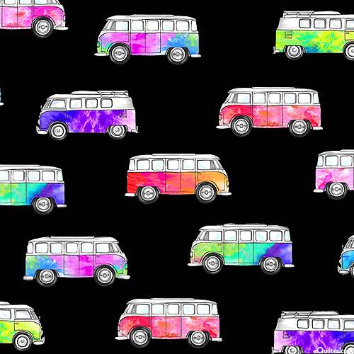 Good Vibes Only - Magic Bus - Black