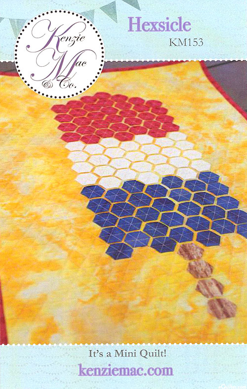 Hexsicle - Quilt Pattern by Kenzie Mac
