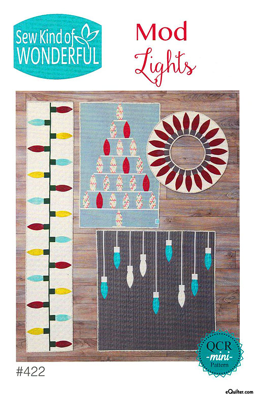 Mod Lights - Quilt Patterns by Sew Kind of Wonderful