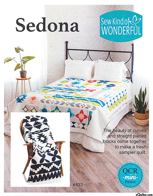 Sedona - Quilt Pattern by Sew Kind of Wonderful