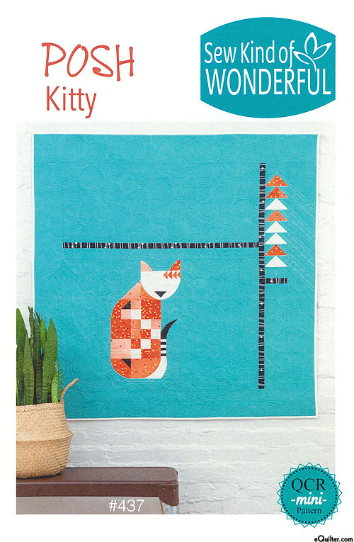 Posh Kitty - Quilt Pattern by Sew Kind of Wonderful