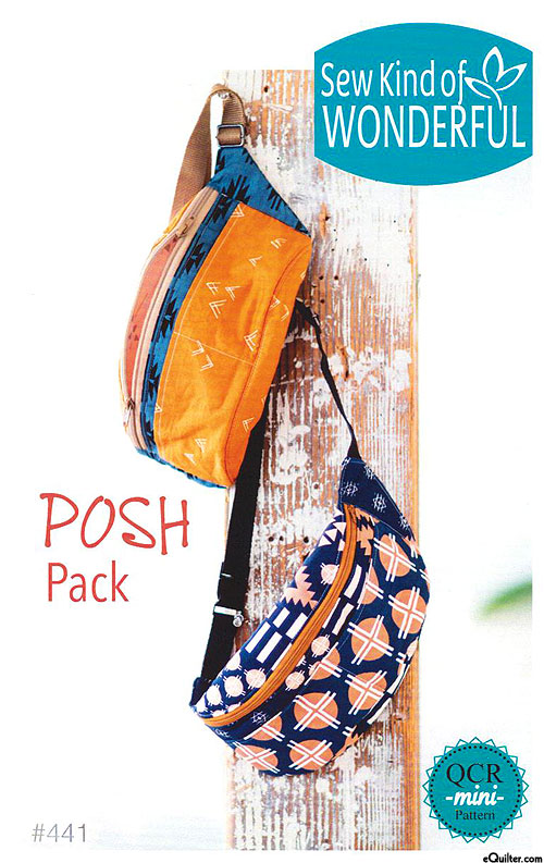 Posh Pack - Pattern by Sew Kind of Wonderful