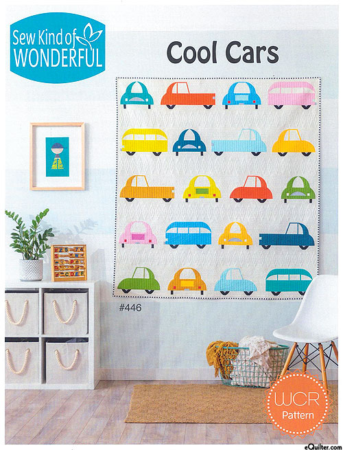 Cool Cars - Quilt Pattern by Sew Kind of Wonderful