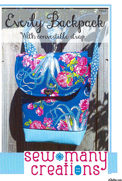 Everly Backpack - Pattern by Sew Many Creations