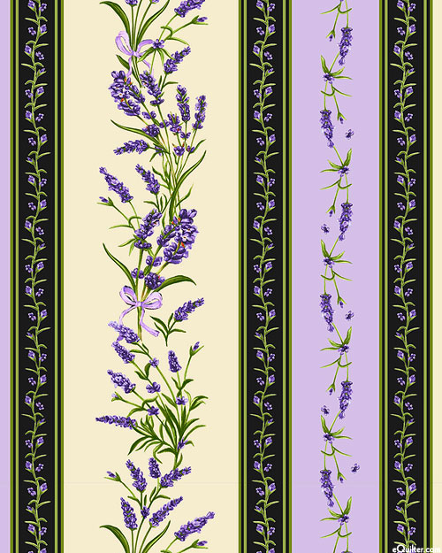 Lavender Sachet - Perennial Stripe - Multi - DIGITAL PRINT