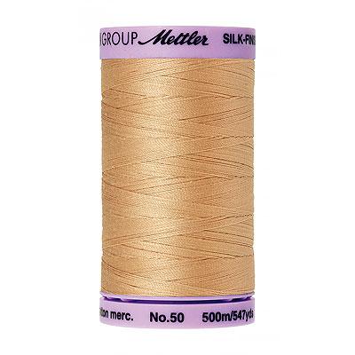 Beige - Mettler Silk Finish Cotton Thread - 547 yd - Blush