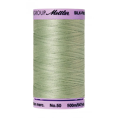 Green - Mettler Silk Finish Cotton Thread - 547 yd - Lt Green