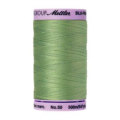 Green - Mettler Silk Finish Cotton Thread - 547 yd - Palm Leaf