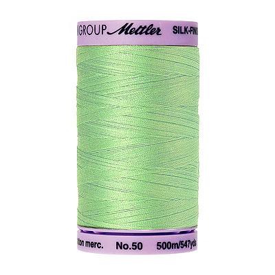 Green - Mettler Silk Finish Cotton Thread - 547 yd - Meadow
