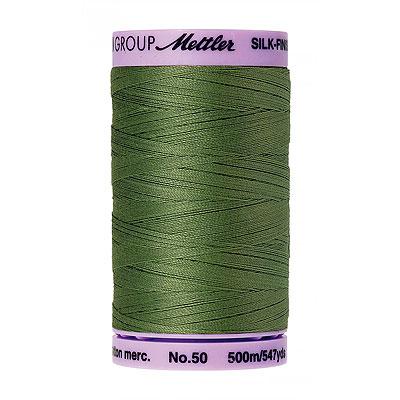 Green - Mettler Silk Finish Cotton Thread - 547 yd - Common Hop