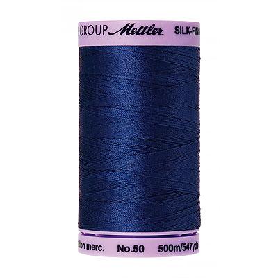 Mettler Silk Finish Cotton Thread - 547 yd - Medium Cobalt