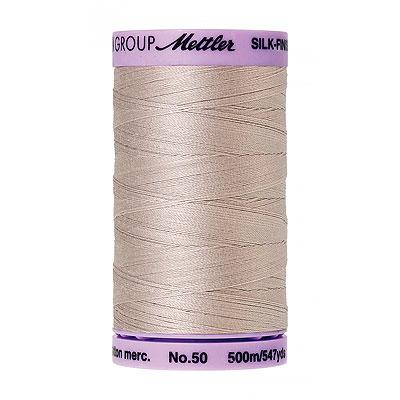 Gray - Mettler Silk Finish Cotton Thread - 547 yd - Cloud