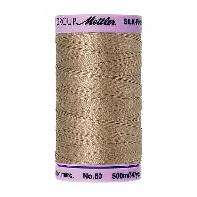 Beige - Mettler Silk Finish Cotton Thread - 547 yd - Md Beige