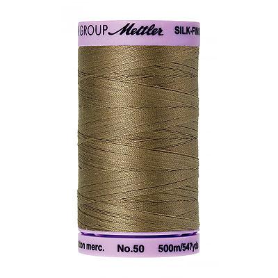 Brown - Mettler Silk Finish Cotton Thread - 547 yd - Thoughtful