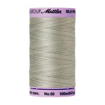 Gray - Mettler Silk Finish Cotton Thread - 547 yd - Pebble Gray