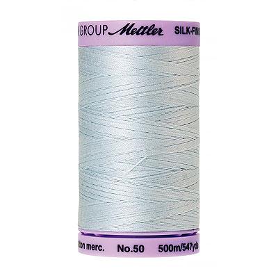 Blue - Mettler Silk Finish Cotton Thread - 547 yd - Pale Blue