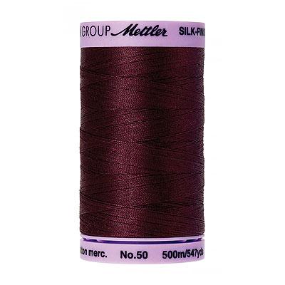 Burgundy - Mettler Silk Finish Cotton Thread - 547 yd - Garnet