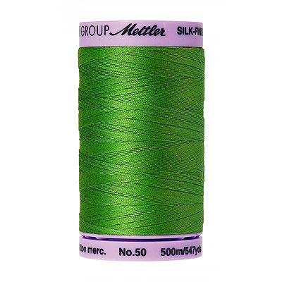 Green - Mettler Silk Finish Cotton Thread - 547 yd - Treetop