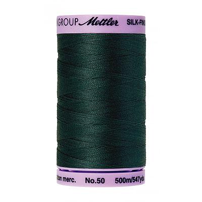 Turquoise - Mettler Silk Finish Cotton Thread - 547 yd - Dk Teal