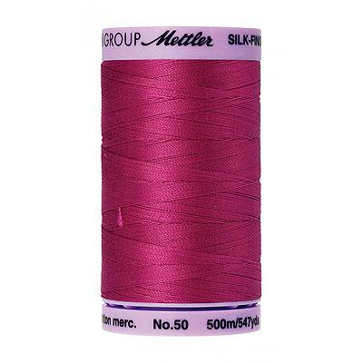 Pink - Mettler Silk Finish Cotton Thread - 547 yd - Bright Peony