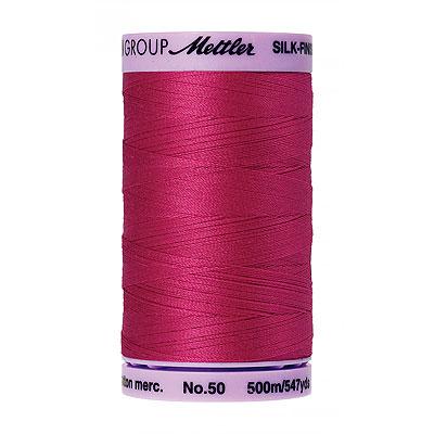 Pink - Mettler Silk Finish Cotton Thread - 547 yd - Fuchsia