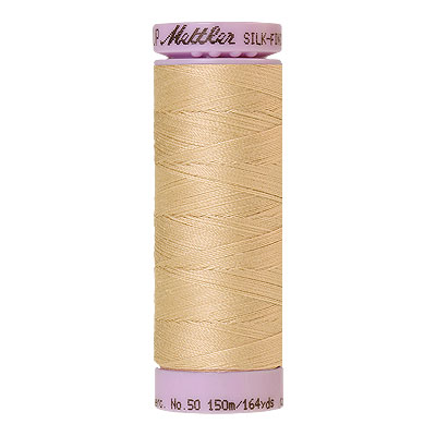 Cream - Mettler Silk Finish Cotton Thread - 164 yd - Eggshell
