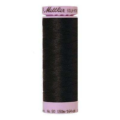 Basic - Mettler Silk Finish Cotton Thread - 164 yd - Black