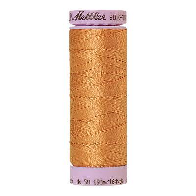 Mettler Silk Finish Cotton Thread - 164 yd - Yellow Orange