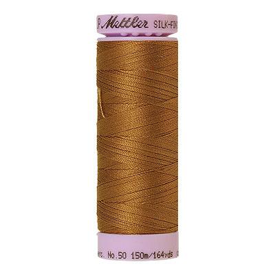 Gold - Mettler Silk Finish Cotton Thread - 164 yd - Wheat